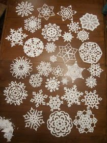 Jillily Studio: Snowflake Tutorial