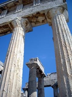 O Ναός της Αφαίας, Αίγινα - The Temple of Aphaia, Aegina, Greece