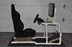 DIY: PVC Racing Simulator Cockpit