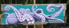 Large Purple Octopus by marklewkowicz on Etsy
