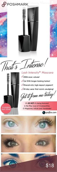 a2a337782cc Order yours today! Lash Intensity® Mascara Get wow-worthy volume plus  irresistible length with Lash Intensity® Mascara. The mascara features a  specially de