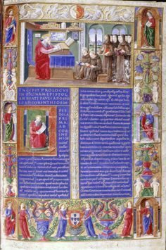 27  Biblia dos Jeronimos, Lisboa.