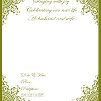 Free Printable Wedding Invitations. Repin and share!