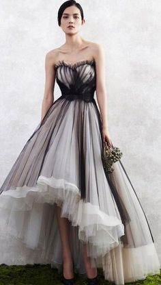 Gown Prom Dresses, Black Ball Gown Evening Dresses, #eveningdresses