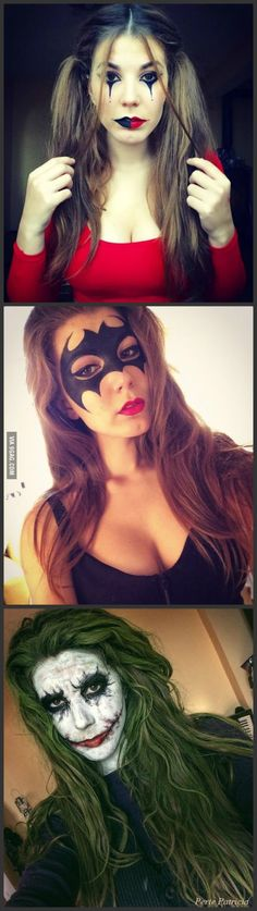 Batman Inspired Halloween Makeup