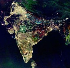 India during Diwali - what an amazing photo