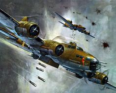 Revell models had beautiful box art in the 1960's and 70's. This is the Memphis Belle.