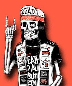 Bones brigade by sebastien CUYPERS, via Behance