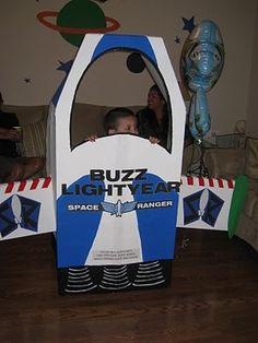 buzz light year space ship photo prop