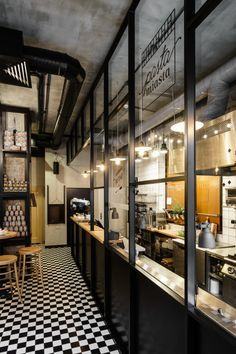Pasta Miasta - Italian, fresh made pasta restaurant interior.