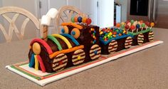 Cutest Chocolate Train Cake Ever!