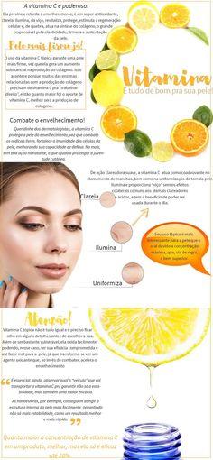 Top 5 Vitamina C Para Pele!