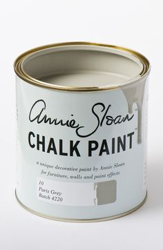 <p>Soft, gentle Paris Grey is inspired by the painted furniture found in elegant French châteaux or old Swedish manor houses. It's made from a mix of blue and orange, so it works naturally well with these complimentaries. Use it over Primer Red or Cream, or with Old White or Original.</p> <p>Available in 100ml small project pots and 1 litre tins.</p>