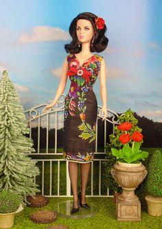 Floral Cascade for Barbie Poppy Parker & Victoire by HankieChic