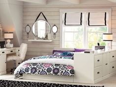Четкое зонирование маленькой комнаты сделает ее просторнее