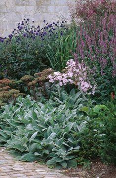 Front Garden at Bury Court, photo Clive Nichols...