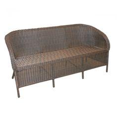 Magda soffa brun Brafab