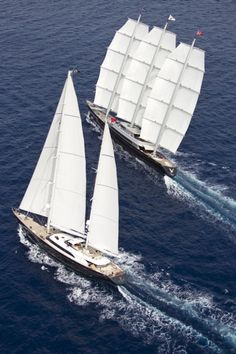 Perini Navi is an Italian shipyard based in Viareggio, Italy, province of Tuscany.  Founded by Fabio Perini in the 1980s, it builds large (20m-60m), luxury sailing yachts.  Some of the most beautifu yatch in the world...