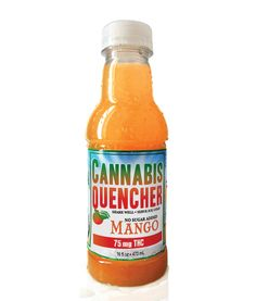 Mango Quencher- For those medical marijuana patients out there looking for a fast-acting, delicious drink to medicate with, here may be the answer to your prayers. This cannabis quencher drinks are THC infused with 1.68 grams of medical cannabis (75 MG of THC). The medicine instantly rushes to your head to provide eye-burning focus and a slightly euphoric space. The tiny amount of sugar in one of these drinks could be another reason why this drink feels so potent.