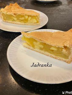 U Jadrankinom malom svetu: Prekriveni kolac od jabuka Apple Cakes, Cheesecake, Ethnic Recipes, Desserts, Food, Tailgate Desserts, Deserts, Apple Tea Cake, Cheesecakes