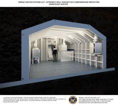 S16x24 Bomb Shelter Interior 6