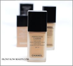 new come! Chanel Perfection Lumiere Foundation review