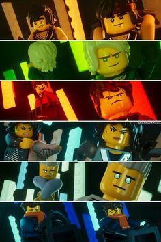 wallpaper by smaragdamalia Ninjago Party, Lego Ninjago Movie, Lego Wallpaper, Ninjago Memes, Lego Pictures, Mustache Party, All Lego, Lego Birthday, Lego House