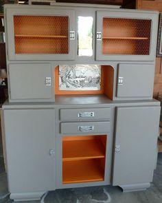 Meubles buffet_secretaire_vintage_oscar_7 rénovés | Bureau ...