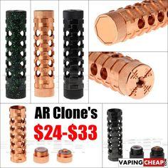 AR Clone Hollow Mech Mod - 24.70+ CHINA - http://vapingcheap.com/ar-clone-hollow-mech-mod-24-70-china/