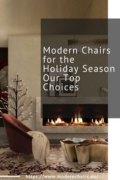 Make your living room decor warmer and ready for the holiday season with the incredibly cosy MUSA Fireplace and modern furniture items, such as the SEQUOIA Center Table, the MALAY Armchair and the YUPIK Rug, NAICCA Suspension Light and BELIZE Mirror.