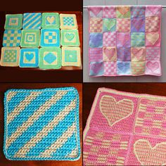 Want to Crochet an Afghan? Try One of These Free Square Patterns: Six Inch Afghan Squares