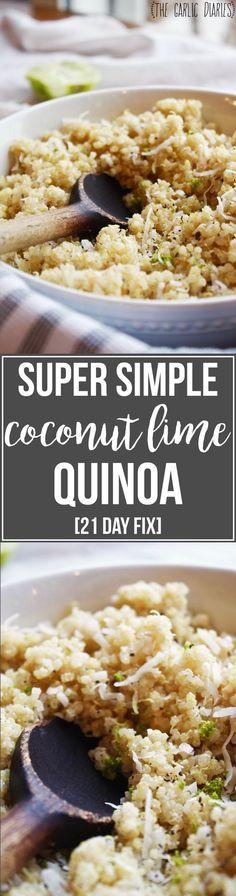 This is officially my new favorite way to eat quinoa. Quinoa is probably the thing I make most on repeat at my house. It is so good for you, a perfect side for pretty much anything, and it tastes a…