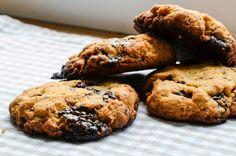 Sušenky z arašídového másla s čokoládou ~ Mangiare squisito ~ Foodblog