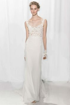 See the complete Reem Acra Bridal Fall 2017 collection.