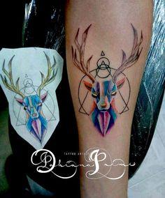 Venado tattoo
