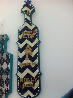 #sorority #paddles  #greek #life #greeklife  http://somethinggreek.com/shop/shopdisplayproducts.asp?id=165=Fraternity+%26+Sorority+Paddles