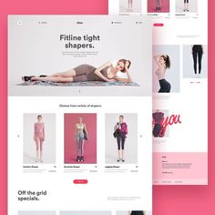 """UX / UI Design Inspiration on Instagram: """"Chuu Collection Page Brain By: @design_flavorist Join UXBrainy Community and Get Free Features 👉…"""" La Formation, Ui Design Inspiration, Ui Ux Design, Gym Time, Ecommerce, Grid, Html, Landing, Community"""