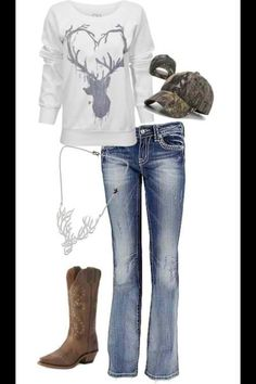 Cute outfit(:  #countrygirl #countryoutfit #countryfashion For more Cute n' Country visit: www.cutencountry.com and www.facebook.com/cuteandcountry