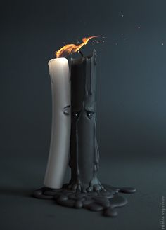 Today we want to show you amazing illustrations by Ukrainian digital artist Nikita Veprikov. Nikita is a winner of numerous competitions and after checking his art works Top Image, Candle Magic, Dark Photography, Love Wallpaper, Photomontage, Dark Art, Cute Wallpapers, Digital Illustration, Bunt