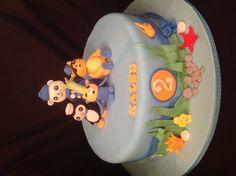 Octonauts cake, by Amy Hart