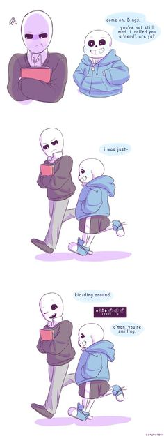 I was supposed to work on an angst sketch for a tumblr prompt, but then I wanted to draw something that references Steven Universe. This could be considered an aftermath of what happened to Gaster ...