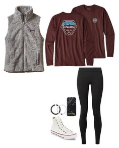 Patagonia outfit by brienna-578 on Polyvore featuring polyvore, fashion, style, Patagonia, The Row, Converse, Lokai and clothing