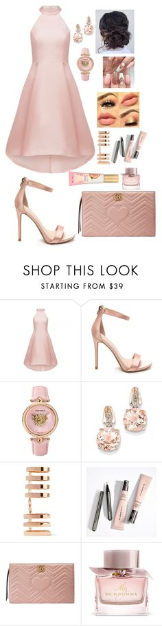"""""""Untitled #386"""" by brie-karitsa-luciano on Polyvore featuring Versace, BillyTheTree, Repossi, Gucci and Burberry"""