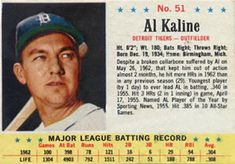1963 Post Cereal Al Kaline Cereal, Trading Card Database, Detroit Tigers, Trivia, Baseball Cards, Quizes, Breakfast Cereal, Corn Flakes