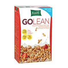 #breakfast One of my faves and Cooking Light calls it the best High-Protein cereal. Whole Grain: 8g, Sugar: 8g, Protein: 13g, Fiber: 10g