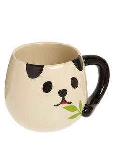 I have an unintentional mug collection and I think I need to add a Panda mug to it.intentionally haha For Panda Love, Cute Panda, Vintage Kitchen, Retro Vintage, Animals Watercolor, Panda Party, Cute Mugs, Mug Shots, Mug Cup