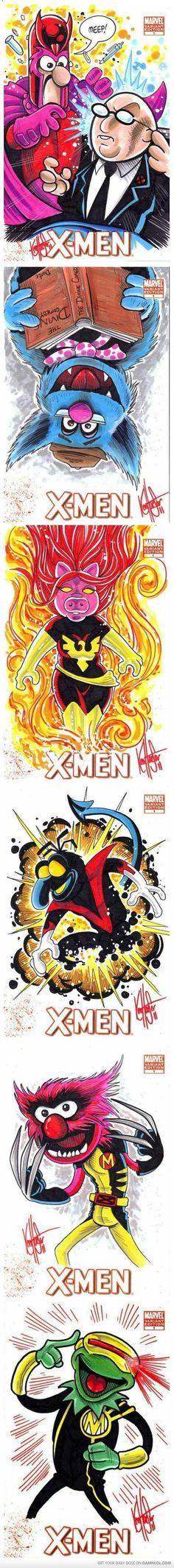 X-Men Muppets Edition - by Ken Haeser