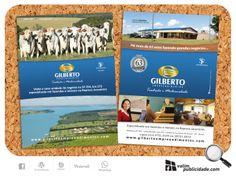 Cliente: Gilberto Empreendimentos | Criação e impressão de flyers 15x21cm em couche 150g #gilbertoempreendimentos #imoveis #represa #jurumirim #fazenda #avare #brasil #bonsnegocios #tradicao #valim #flyers