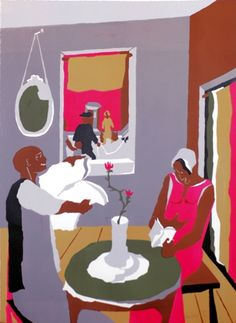 """Aspiration"" by Jacob Lawrence"