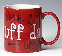Red Uff Da Mug